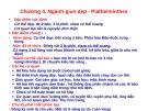 Bài giảng Động vật học - Chương 4: Ngành giun dẹp - Plathelminthes