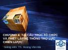 Bài giảng Quản trị chiến lược: Chương 4 - TS. Hoàng Văn Hải