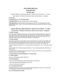 Tiêu chuẩn Quốc gia TCVN 6821:2010