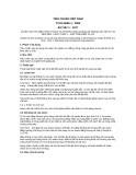 Tiêu chuẩn Việt Nam TCVN 6699-1:2000
