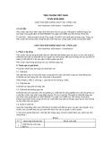 Tiêu chuẩn Việt Nam TCVN 6705:2000