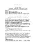 Tiêu chuẩn Quốc gia TCVN 7212:2009 - ISO 8996:2004