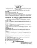 Tiêu chuẩn Quốc gia TCVN 7309:2007 - ISO 8106:2004