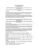 Tiêu chuẩn Quốc gia TCVN 6782:2000