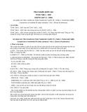 Tiêu chuẩn Quốc gia TCVN 7168-1:2007 - ISO/TR 11071-1:2004