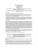 Tiêu chuẩn Quốc gia TCVN 6854:2001 - ISO 8690:1988