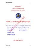 Khóa luận tốt nghiệp: Thực trạng sản xuất cao su tiểu điền trên địa bàn xã Cam Nghĩa, huyện Cam Lộ, tỉnh Quảng Trị