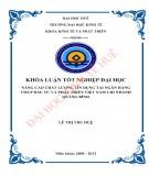 Khóa luận tốt nghiệp Kinh tế và phát triển: Nâng cao chất lượng tín dụng tại Ngân hàng TMCP Đầu tư và Phát triển Việt Nam chi nhánh Quảng Bình