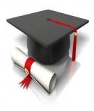 Đề tài tốt nghiệp cử nhân Điều dưỡng hệ VHVL: Thực trạng hành vi sức khỏe, nguy cơ trầm cảm và stress của sinh viên năm thứ hai Đại học Thương mại năm 2013