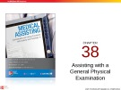 Lecture Medical assisting: Administrative and clinical procedures with anatomy and physiology (4/e) – Chapter 38
