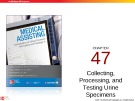 Lecture Medical assisting: Administrative and clinical procedures with anatomy and physiology (4/e) – Chapter 47