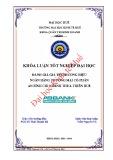 Khóa luận tốt nghiệp: Đánh giá giá trị thương hiệu Ngân hàng Thương mại cổ phần An Bình chi nhánh Thừa Thiên Huế