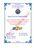 Khóa luận tốt nghiệp: Đánh giá về chất lượng dịch vụ ADSL của Công ty Viễn thông FPT Miền Trung chi nhánh Đà Nẵng từ góc độ khách hàng cá nhân trên địa bàn thành phố Đà Nẵng