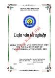 Khóa luận tốt nghiệp: Đánh giá quy trình thực hiện thủ tục hải quan điện tử tại Cục hải quan Thừa Thiên Huế