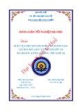 Khóa luận tốt nghiệp: Phân tích hiệu quả sản xuất kinh doanh gạch của Nhà máy gạch tuynel Anh Sơn tại xã Cẩm Sơn, huyện Anh Sơn, tỉnh Nghệ An