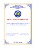 Khóa luận tốt nghiệp: Xây dựng website bán hàng tiêu dùng qua mạng cho công ty TNHH TMTH Tuấn Việt
