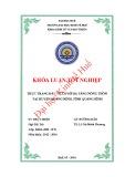 Khóa luận tốt nghiệp: Thực trạng đầu tư cơ sở hạ tầng nông thôn tại huyện Quảng Ninh, tỉnh Quảng Bình