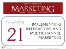 Lecture Marketing (11/e): Chapter 21 – Kerin, Hartley, Rudelius