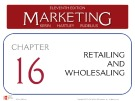 Lecture Marketing (11/e): Chapter 16 – Kerin, Hartley, Rudelius