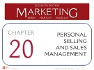 Lecture Marketing (11/e): Chapter 20 – Kerin, Hartley, Rudelius