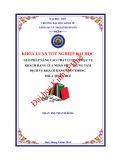 Khóa luận tốt nghiệp Quản trị kinh doanh: Giải pháp nâng cao chất lượng phục vụ khách hàng của nhân viên Trung tâm DVKH – Viễn thông Thừa Thiên Huế