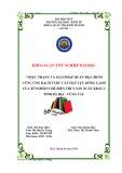 Khóa luận tốt nghiệp: Thực trạng và giải pháp quản trị chuỗi cung ứng bạch tuộc cắt hạt lựu đông lạnh của Xí nghiệp cế biến thủy sản xuất khẩu I tỉnh Bà Rịa - Vũng Tàu