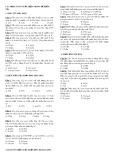Các dạng toán xuất hiện trong đề kiểm tra Hóa học
