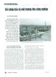 Giải pháp bảo vệ môi trường khu công nghiệp