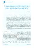 Tác động qua lại giữa kiểm toán nội bộ và nhà quản trị cấp cao: Lý thuyết và thực tiễn tại một số doanh nghiệp Việt Nam