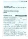 Hội nhập thuế quan: Những tác động tới cơ cấu nhập khẩu của Việt Nam