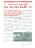 Thành tựu phát triển kinh tế - xã hội Việt Nam 10 năm 2001 - 2010