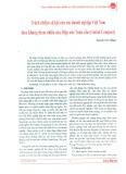 Trách nhiệm xã hội của các doanh nghiệp Việt Nam theo khung tham chiếu của Hiệp ước toàn cầu (Global Compact)