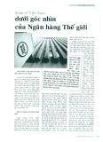 Kinh tế Việt Nam dưới góc nhìn của Ngân hàng Thế giới