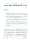 Đổi mới quản trị công ty và những yêu cầu đối với cổ phần hóa doanh nghiệp nhà nước ở Việt Nam