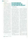 Một số nguyên nhân dẫn đến rủi ro đạo đức nghề nghiệp trong các tổ chức tín dụng tại Việt Nam hiện nay