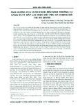 Ảnh hưởng của luân canh đến sinh trưởng và năng suất bắp lai trên đất phù sa không bồi tại An Giang
