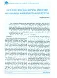 Lòng tin tổ chức - Một chỉ số quan trọng về năng lực doanh nghiệp: Khảo sát so sánh ở các doanh nghiệp quốc tế và doanh nghiệp Việt Nam