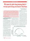 Mối quan hệ giữa tăng trưởng kinh tế và lạm phát trong nền kinh tế Việt Nam