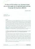 Tác động của FDI, dao động tỷ giá, thị trường tài chính đến các doanh nghiệp của các ngành định hướng xuất khẩu: Trường hợp Việt Nam thời kỳ 2000 - 2012