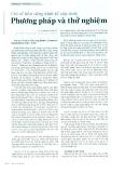 Chỉ số bền vững kinh tế cấp tỉnh: Phương pháp và thử nghiệm