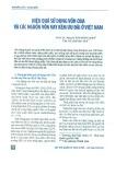Hiệu quả sử dụng vốn ODA và các nguồn vốn vay kém ưu đãi ở Việt Nam