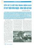 Đồng bộ và đột phá trong chính sách để phát triển nông nghiệp - nông thôn Việt Nam