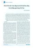 Điều tiết lãi suất và tác động của trần lãi suất huy động lên hệ thống ngân hàng Việt Nam