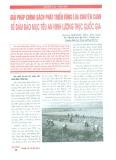 Giải pháp chính sách phát triển vùng lúa chuyên canh để đảm bảo mục tiêu an sinh lương thực quốc gia