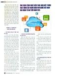 Ứng dụng công nghệ điện toán đám mây trong hoạt động của Ngân hàng Nhà nước Việt Nam giai đoạn từ nay đến năm 2015