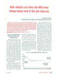 Biến chuyển của dòng vốn ODA trong khủng hoảng kinh tế thế giới hiện nay