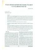 Ứng dụng mô hình SVAR trong phân tích hiệu ứng chuyển của tỷ giá hối đoái ở Việt Nam