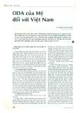 ODA của Mỹ đối với Việt Nam