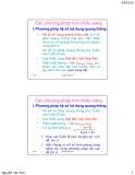 Bài giảng Kỹ thuật điện: Chương 2.2 - Chiếu sáng điện cho công trình (TT)