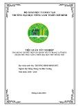 Tiểu luận tốt nghiệp Hệ thống thông tin môi trường: Ứng dụng GIS hỗ trợ vận hành tối ưu mạng lưới BTS (trạm thu phát gốc) trên địa bàn thủ đô Hà Nội